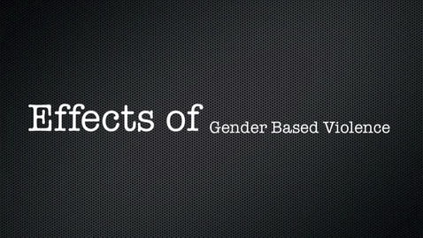 Thumbnail for entry Gender Based Violence in the D.R.C. Group 63