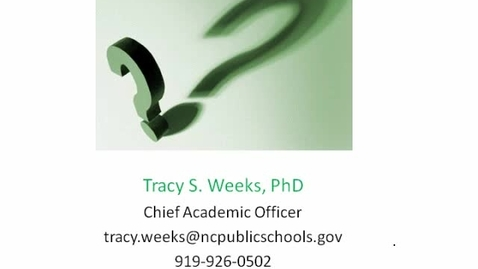 Thumbnail for entry LOCK: Curriculum and Instruction Preso Part 3
