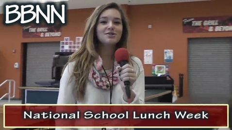 Thumbnail for entry National School Lunch Week