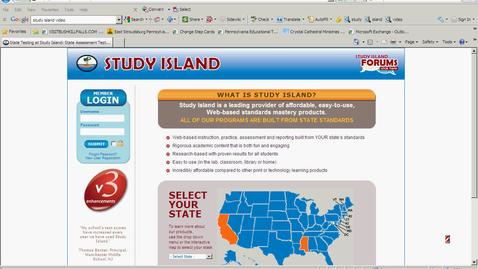 Thumbnail for entry Study Island Setup Directions