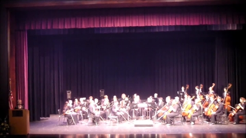 Thumbnail for entry Fall 2014 Symphonic Orchestra Performance