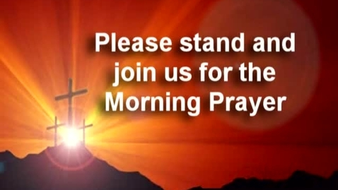 Thumbnail for entry 2-7-14 LCCS News - Prayer
