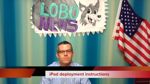 Thumbnail for entry iPad Deployment 2014