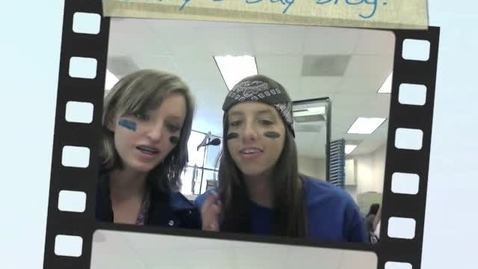 Thumbnail for entry B Day Blog From New Caney High School Multimedia