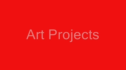 Thumbnail for entry THS Art Projects
