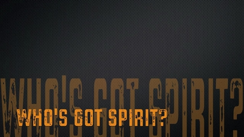 Thumbnail for entry BBHS Your Three Words: Who's Got Spirit?