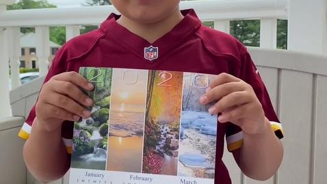 Thumbnail for entry Sebastian's Calendar Class