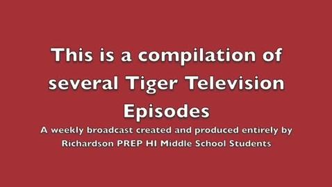 Thumbnail for entry Best of Tiger TV