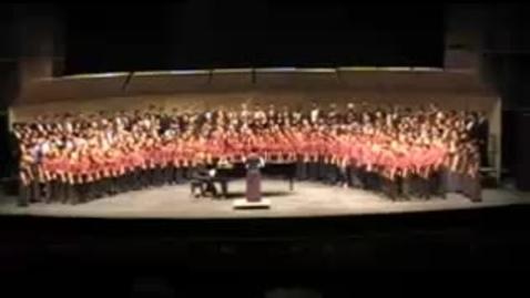 Thumbnail for entry Sit Down Servant - 2008 Honor Choirs Concert Program