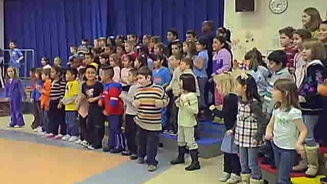 Thumbnail for entry Sanborn First and Second Grade Music Program