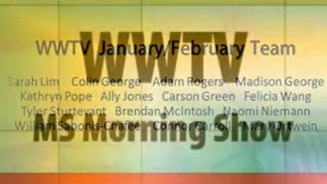 Thumbnail for entry WWTV January 23, 2015 Friday