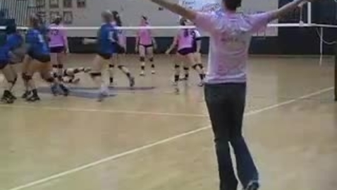 Thumbnail for entry Tough loss for Vanguard Volleyball