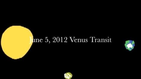 Thumbnail for entry Venus Transit 2012