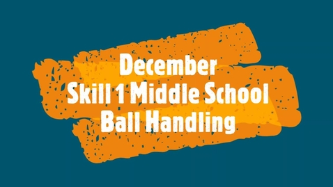 Thumbnail for entry December Skill 1 - Middle School