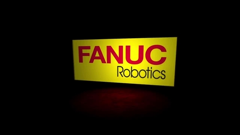 Thumbnail for entry FANUC Robotics M-10iA & ARC Mate 120iC/10L Robots Perform Coordinated Motion with a Basketball