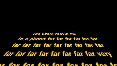 Thumbnail for entry STAR WARS MOVIE #2