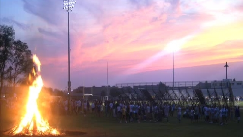 Thumbnail for entry Bonfire fires up fans