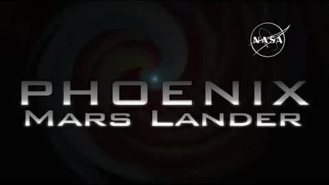 Thumbnail for entry Phoenix Mars Lander