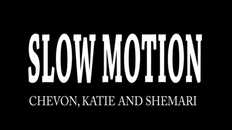 Thumbnail for entry Slow Motion - WSCN 2014/2015