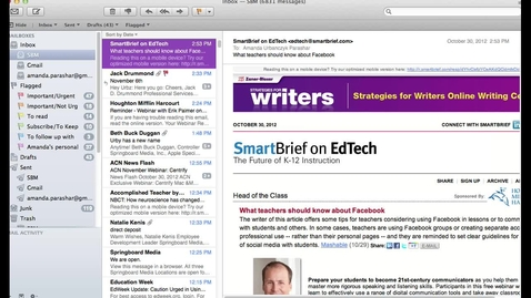 Thumbnail for entry Email Signatures in Apple Mail