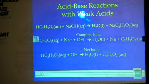 Thumbnail for entry Chapter 4: Acid Base Reactions Pt. 1