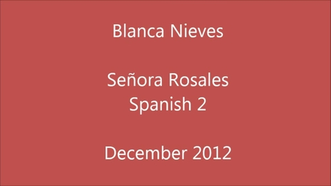 Thumbnail for entry Blanca Nieves Senora Rosales Edisto High