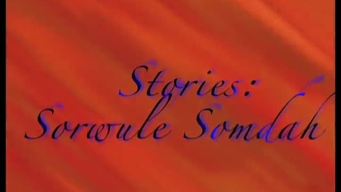 Thumbnail for entry All our stories-Sonny