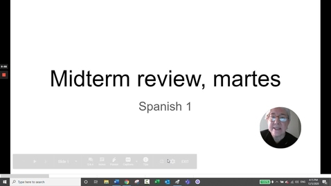Thumbnail for entry MIDTERM REVIEW MARTES