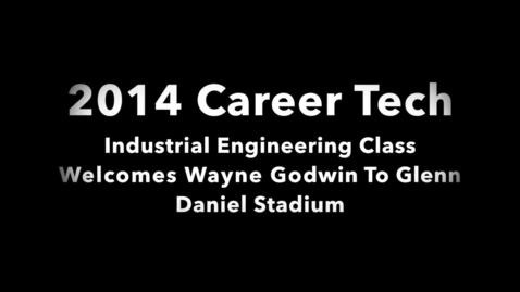Thumbnail for entry Luverne High School Senior Alexus Redmon Interviews Wayne Godwin