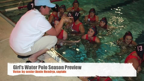 Thumbnail for entry Water Polo Season Preview