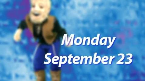 Thumbnail for entry Monday, September 23, 2013
