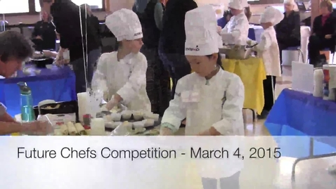 Thumbnail for entry Future Chefs Competition 2015 - Ferndale Schools