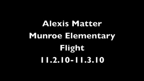 Thumbnail for entry Alexis Matter SLA Video