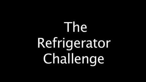 Thumbnail for entry STN Challenge 2012, Fridge