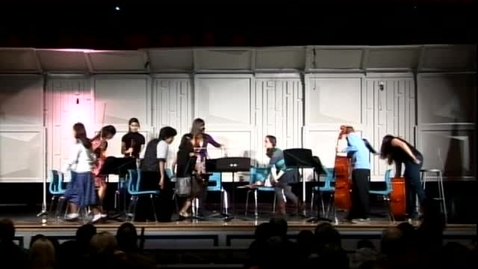 Thumbnail for entry Granite Oaks Orch. Concert, Winter 2009