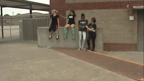 Thumbnail for entry Site-Specific Dances 2nd period 7th grade 5-13-15 group BW JS CC KK