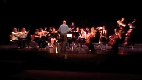 Thumbnail for entry Heifetz Trio with Combined RHS and THS Orchestras at Rogers HS