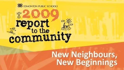 Thumbnail for entry New Neighbours, New Beginnings