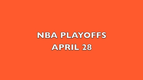 Thumbnail for entry NBA Playoffs