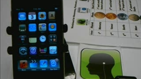 Thumbnail for entry Memoreasy iTouch App (Audio Flashcard)
