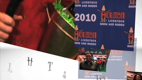Thumbnail for entry Houston Livestock Show and Rodeo Celebrity Goat Milking Contest