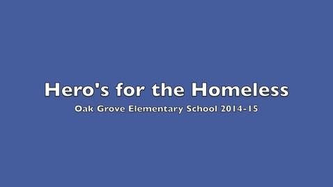 Thumbnail for entry Hero's for the Homeless