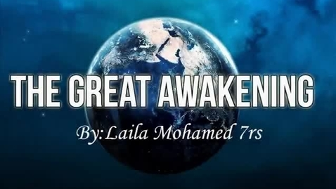 Thumbnail for entry The Great Awakening Laila 7RS