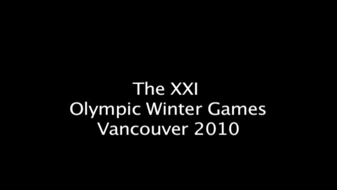Thumbnail for entry Winter Olympics