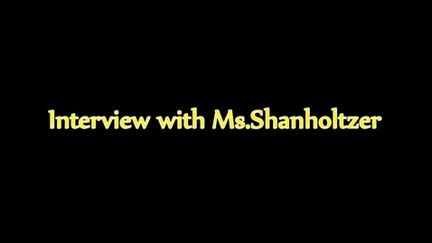 Thumbnail for entry Tammy Shanholtzer