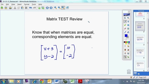 Thumbnail for entry Review for Unit 4 Test