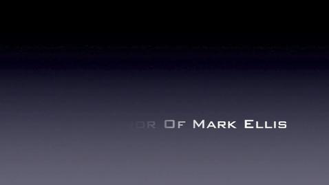 Thumbnail for entry Mark Ellis