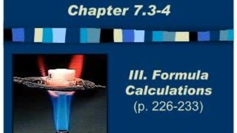 Thumbnail for entry Chemistry Chapter 7.3