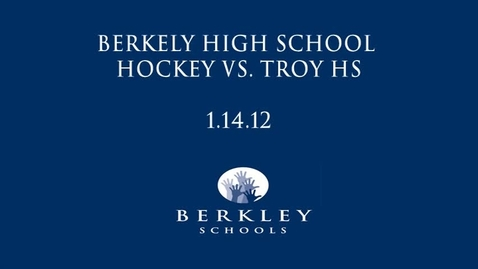 Thumbnail for entry BHS Hockey vs. Troy HS 2012
