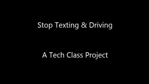 Thumbnail for entry Texting While Driving